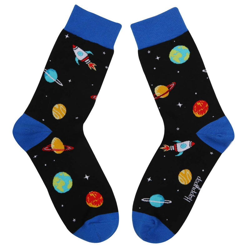 Space Planet Socks - Happypop