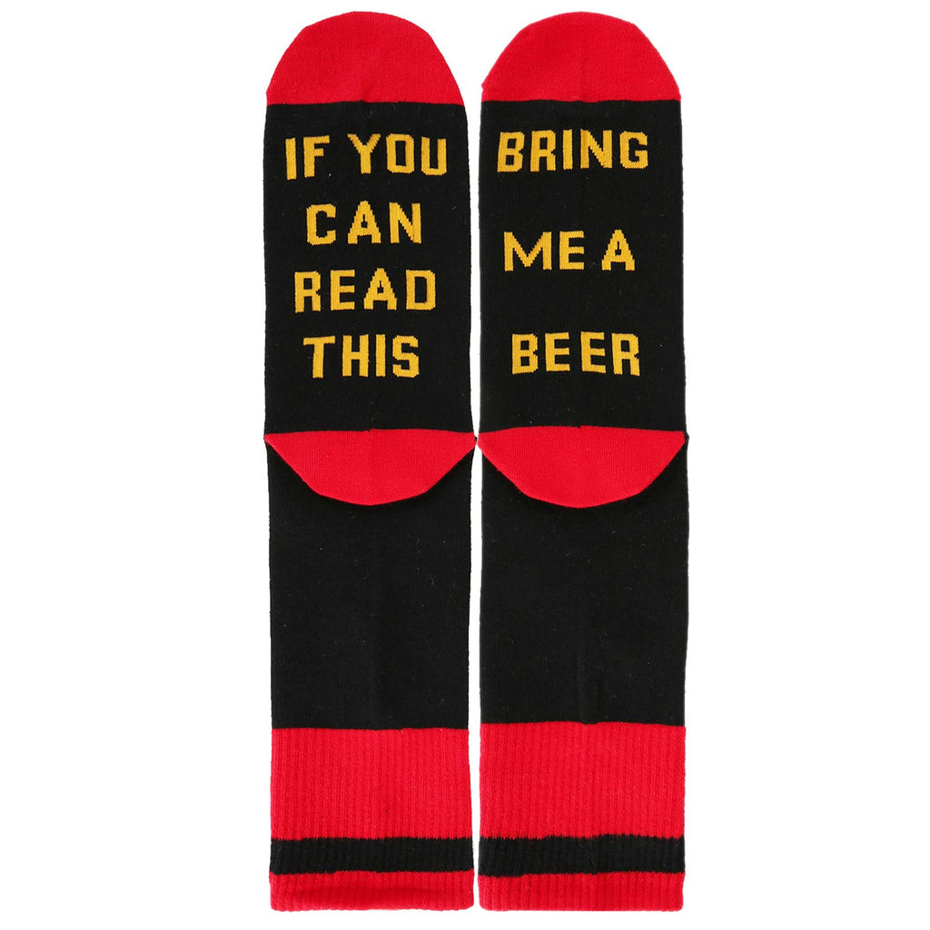 Saying Beer Socks - Happypop