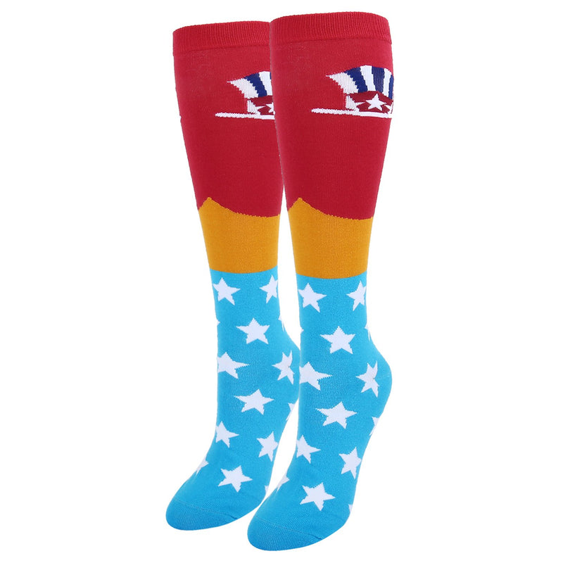 Uncle Sam Hat Socks - Happypop