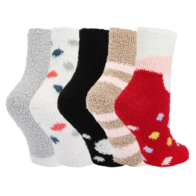 Fluffy Fuzzy Cute Socks - Happypop