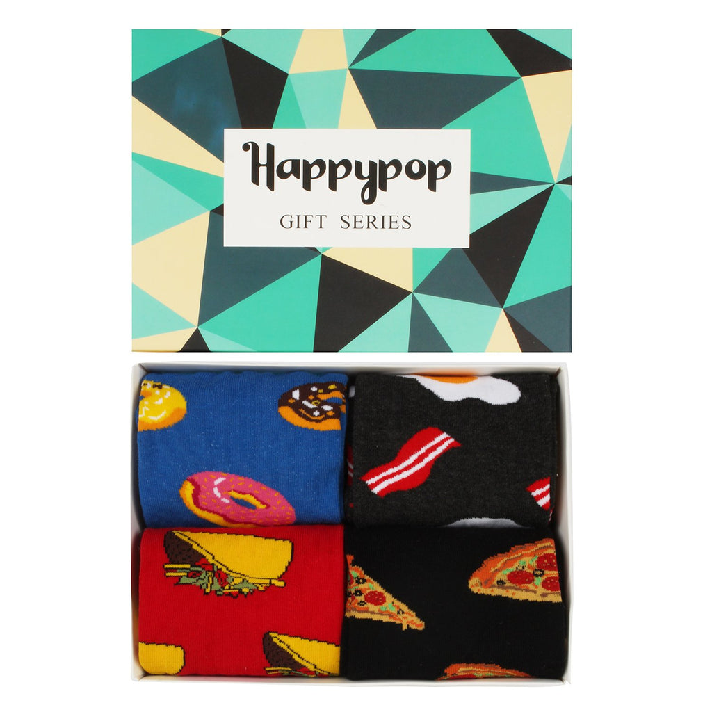 Food Socks Gift Box Series - Happypop