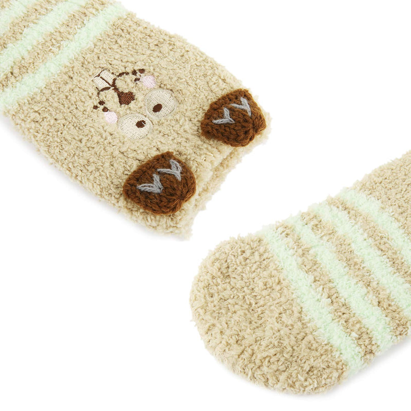 Baby Fuzzy Cartoon Slipper Socks - Happypop