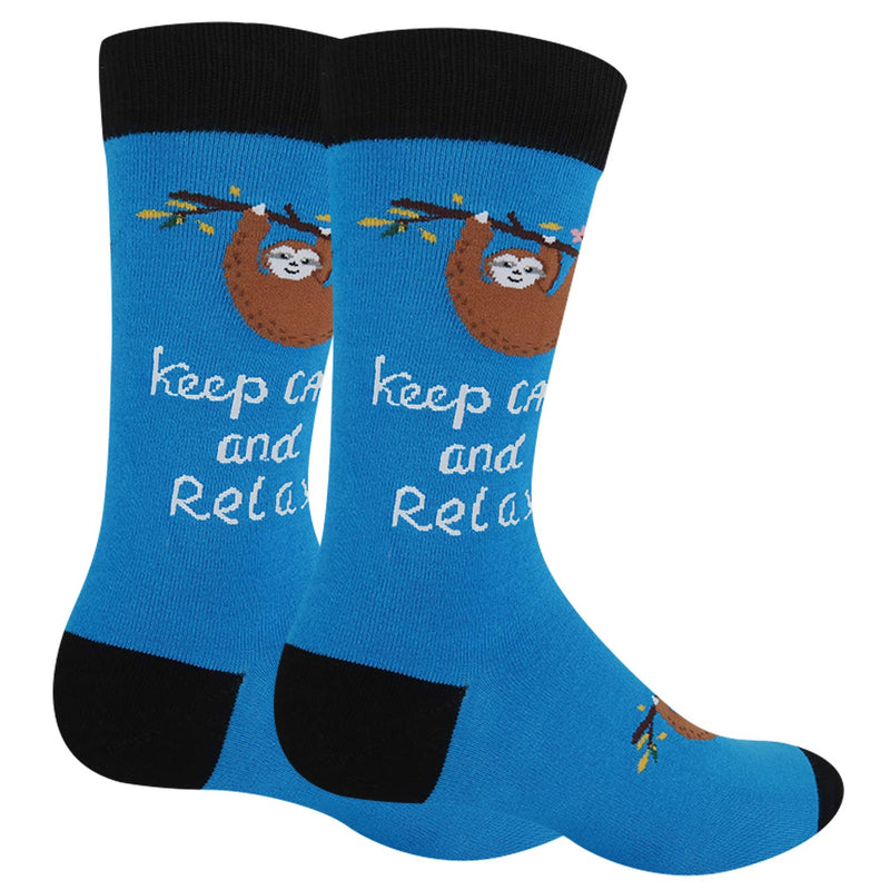 Word Sloth Socks - Happypop