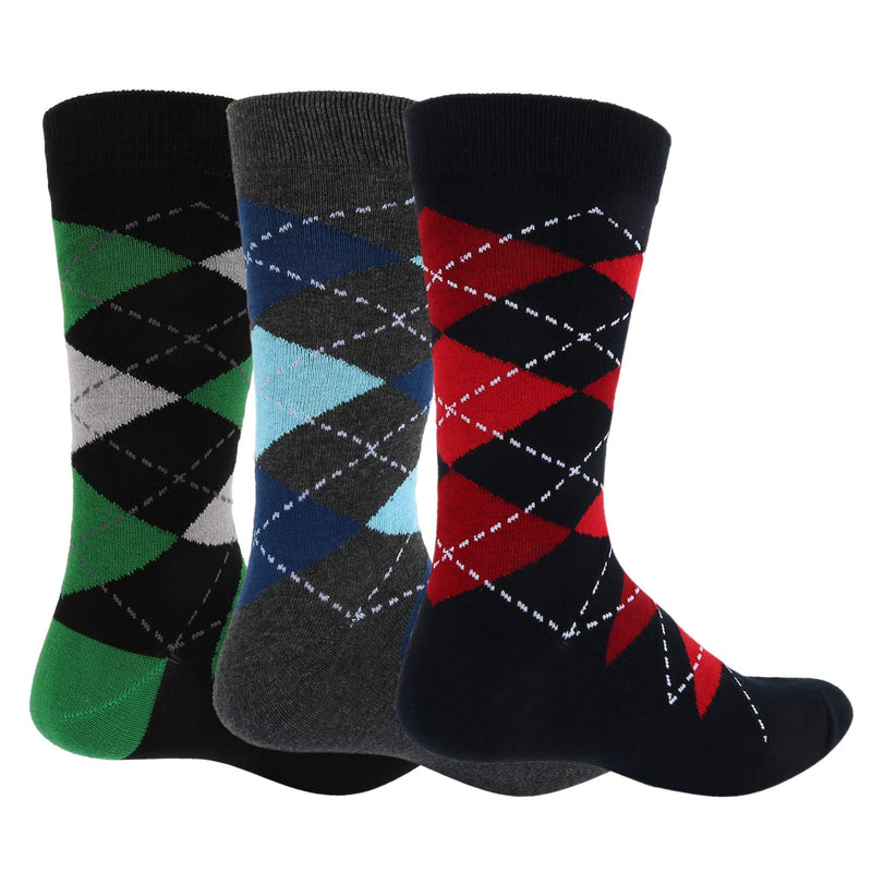 Argyle Socks-3 pack - Happypop