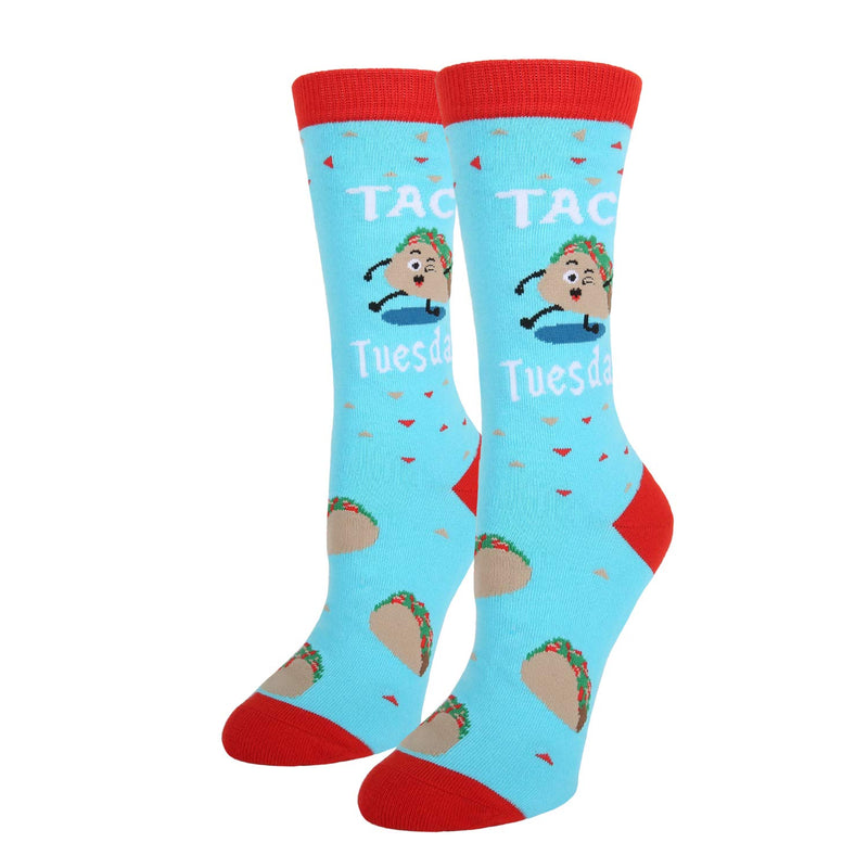 Taco Tuesday Pun Socks - Happypop