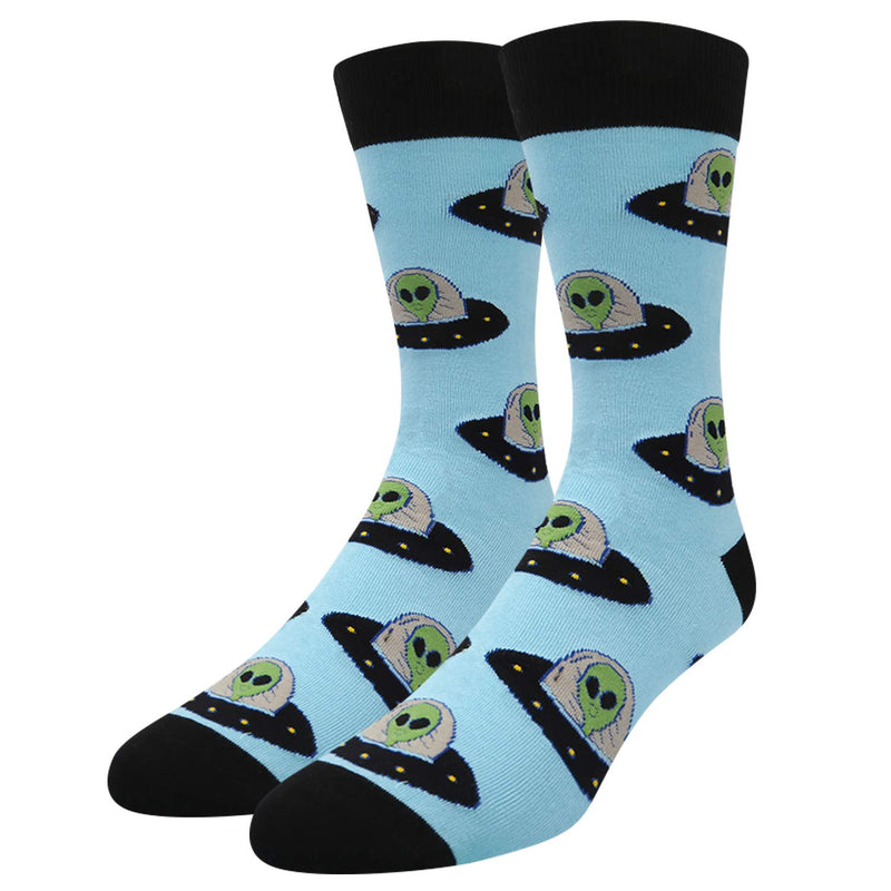 Space Alien Socks - Happypop