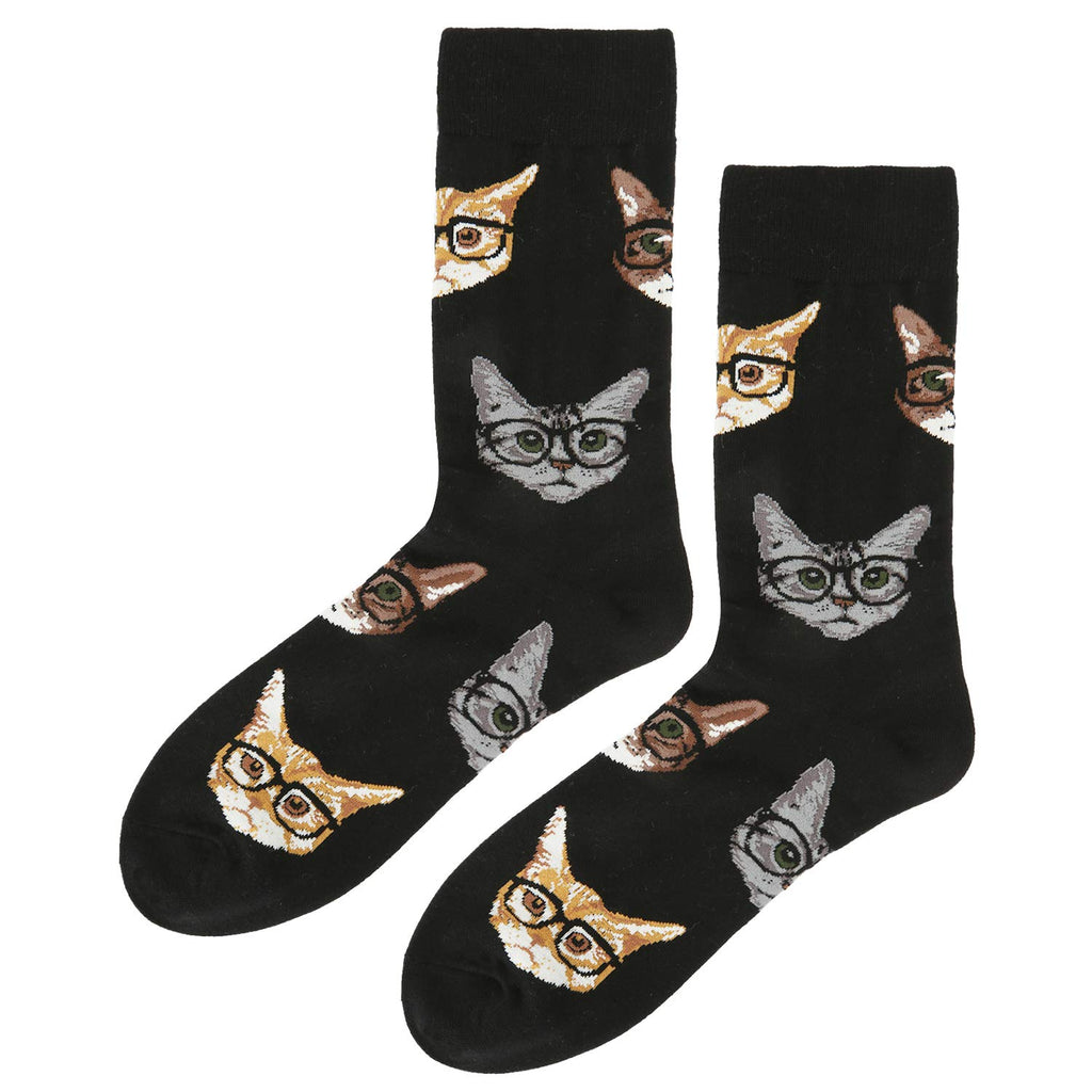 Black Cat Socks