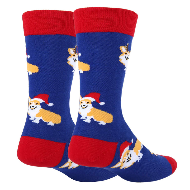 Christmas Corgi Socks - Happypop