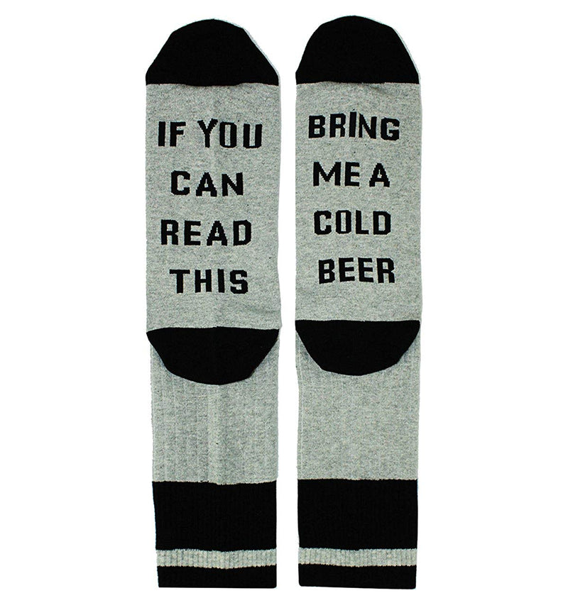 Saying Grey Beer Socks Gift Box - Happypop