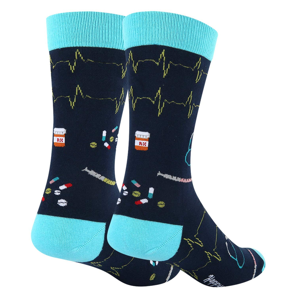 Nurse Stethoscope Socks - Happypop