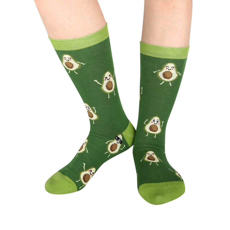 Avocado Pun Socks - Happypop