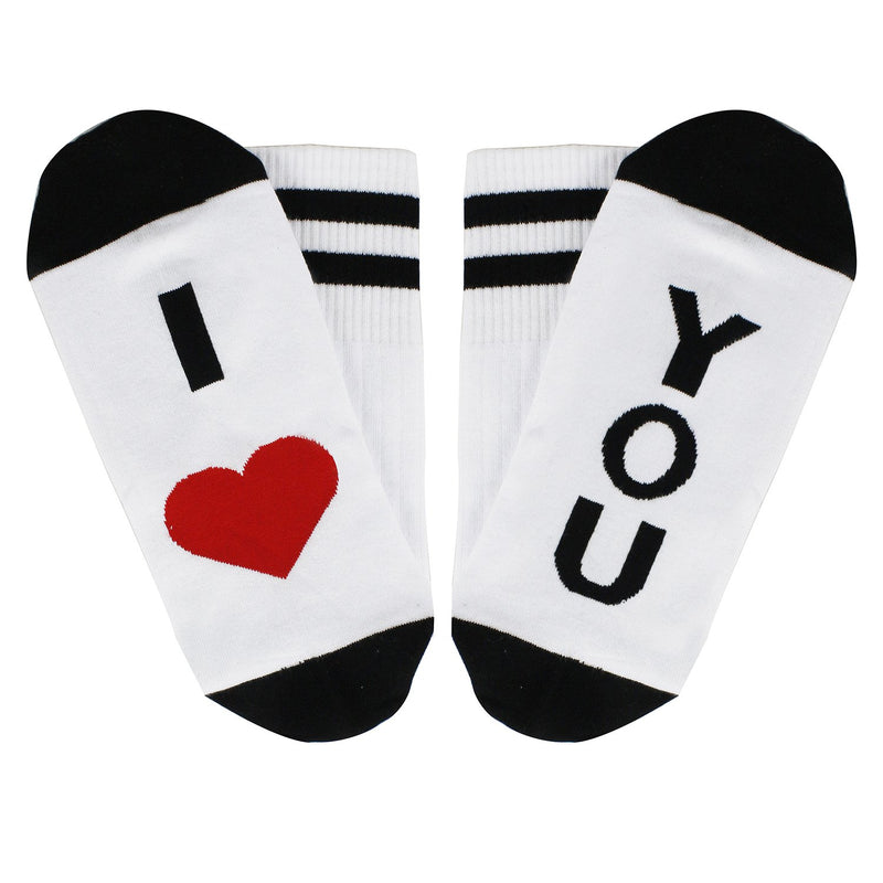Saying Love You Socks
