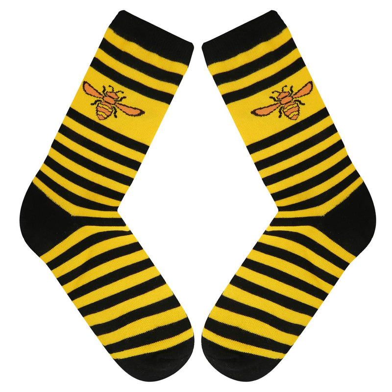 Striped Bees Socks