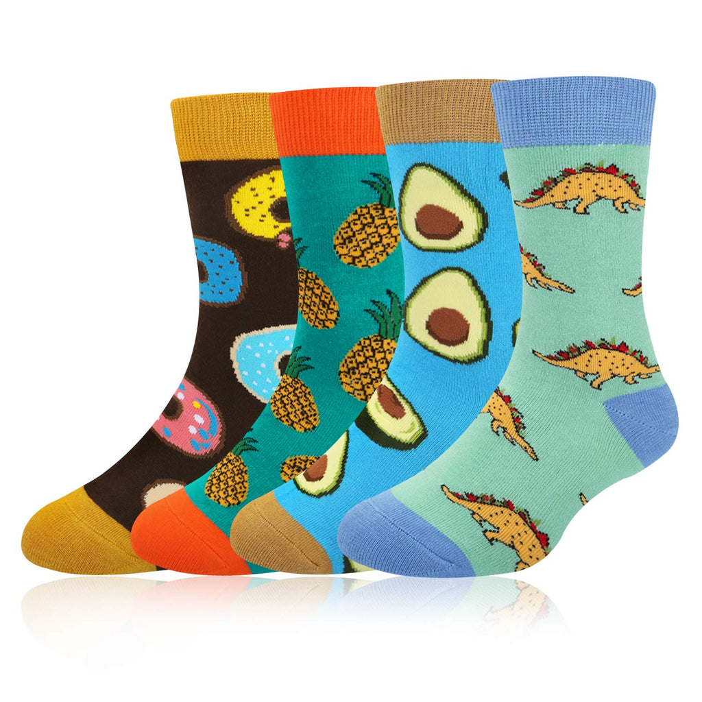 Kids Food Socks Gift Box - Happypop