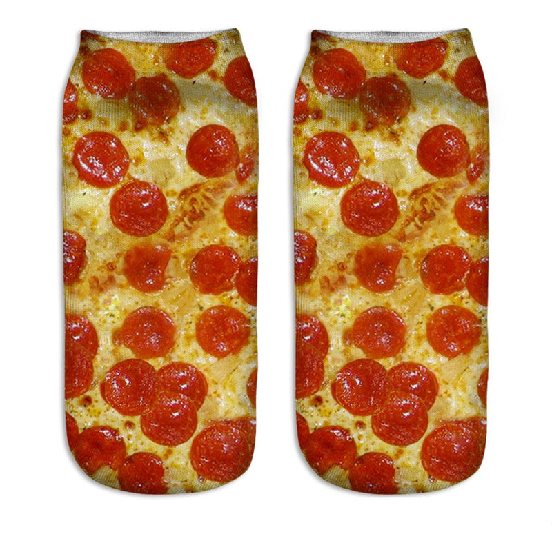 Printed 3D Food Socks - Happypop