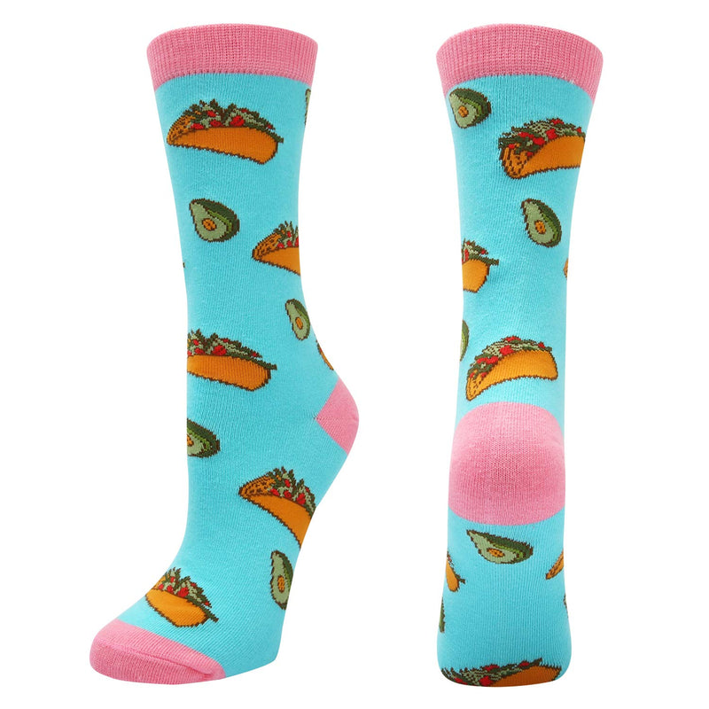 Avocado Taco Socks - Happypop