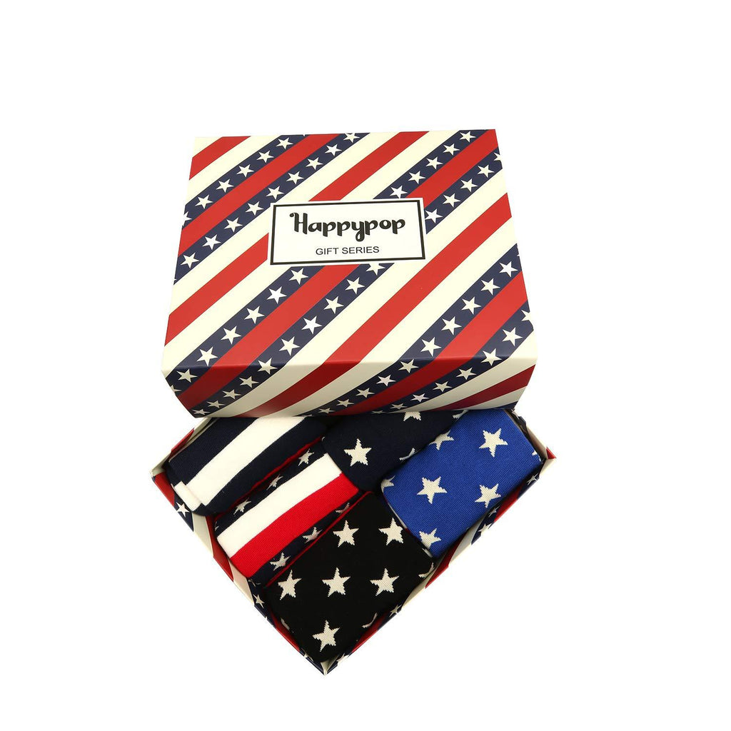 American Flag Socks Series - Happypop