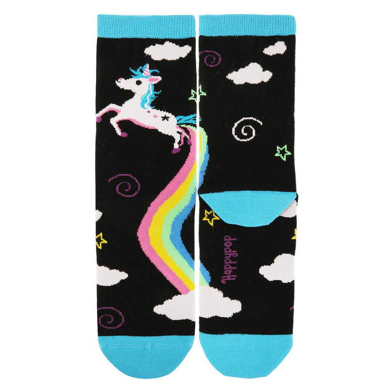 Poop Unicorn Socks Gift Box