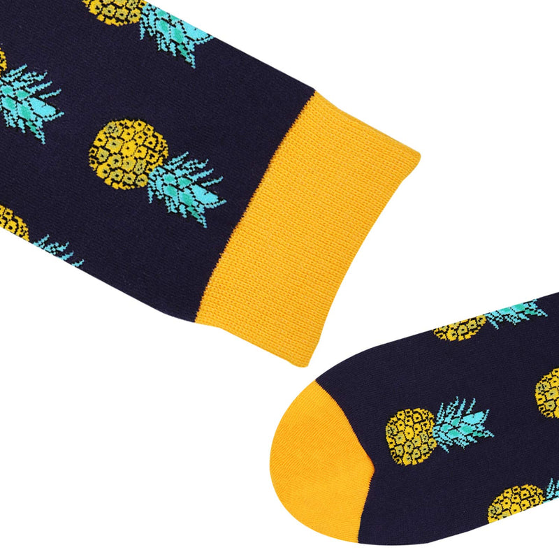 Black Pineapple Socks