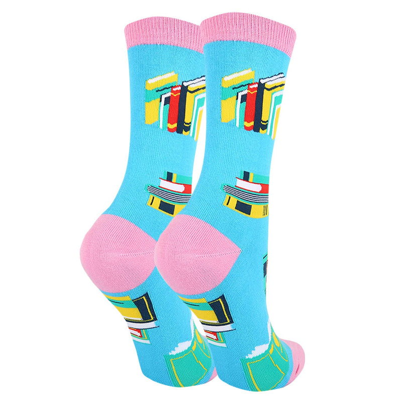Weekend Book Socks - Happypop