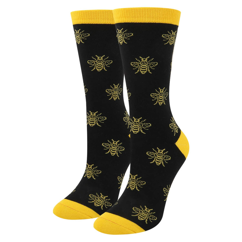 Black Bees Socks - Happypop