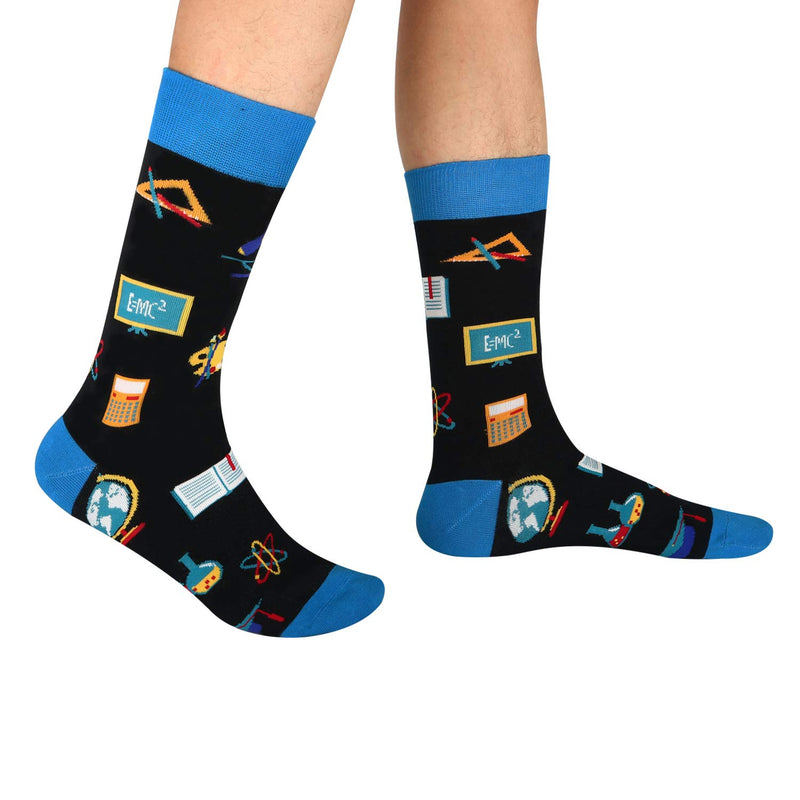 School Book Socks - Happypop