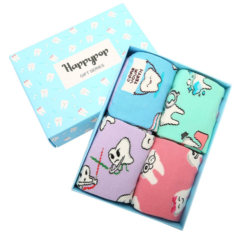 Dental Socks Gift Box - Happypop