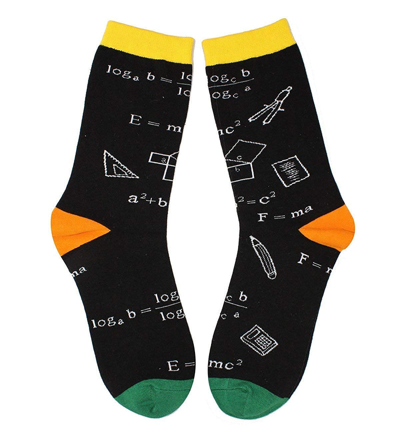 Math Chemistry Socks Gift Box - Happypop