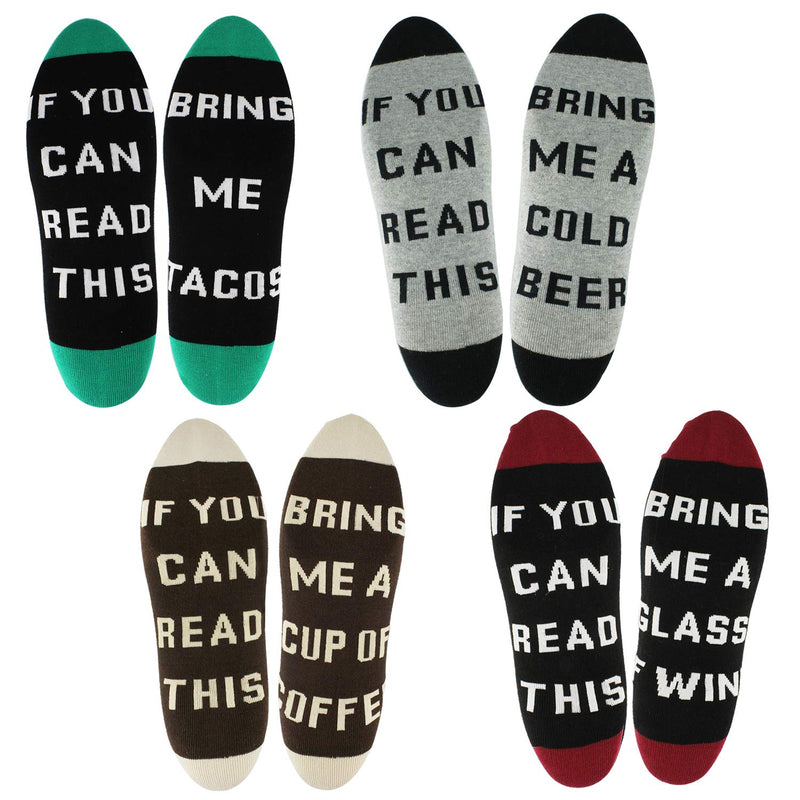 Saying Socks Gift Box