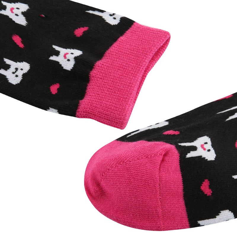 Teeth Heart Socks - Happypop