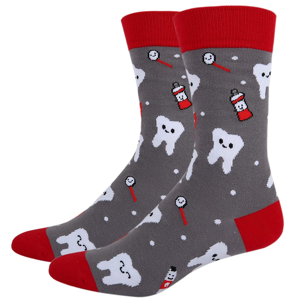 Mens Dental Teeth Socks - Happypop