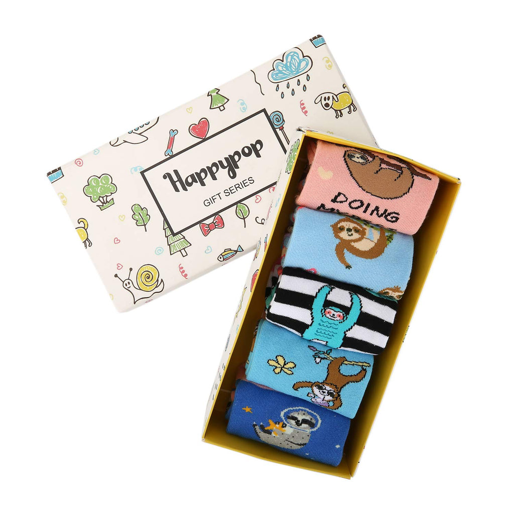 Kids Sloth Socks Gift Box