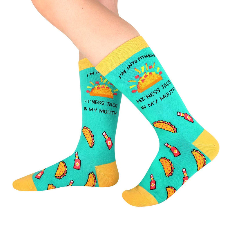 Cute Taco Socks Gift Box - Happypop