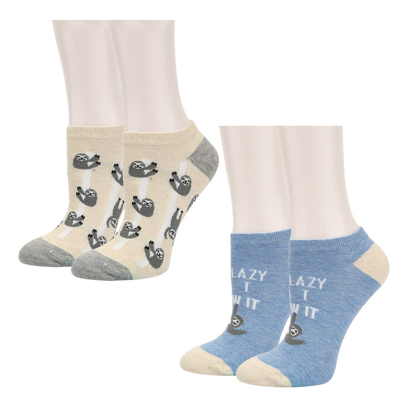 Non-slip White Reading Socks