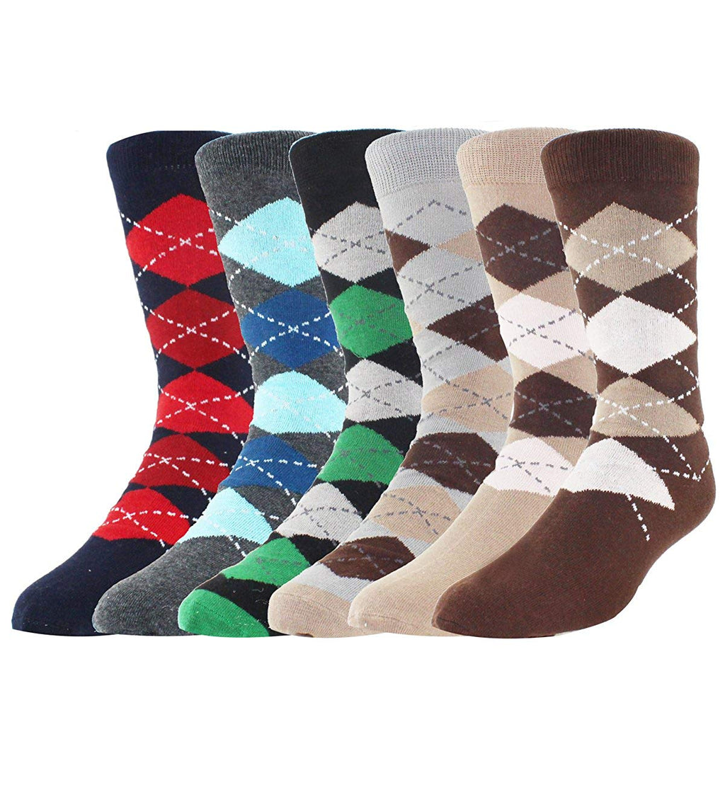 Argyle Socks-6 pack - Happypop