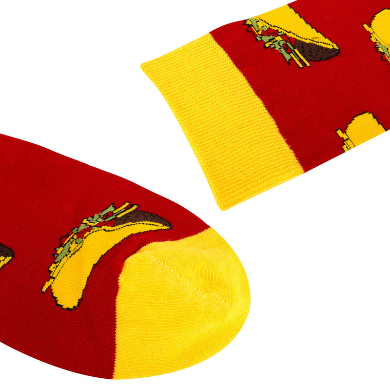 Red Taco Socks - Happypop