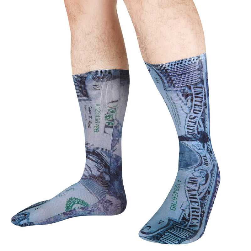 Printed Money Socks - Happypop