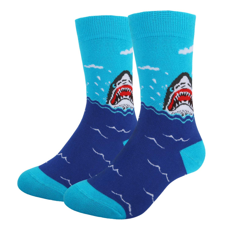 Kids Shark Socks Gift Box - Happypop