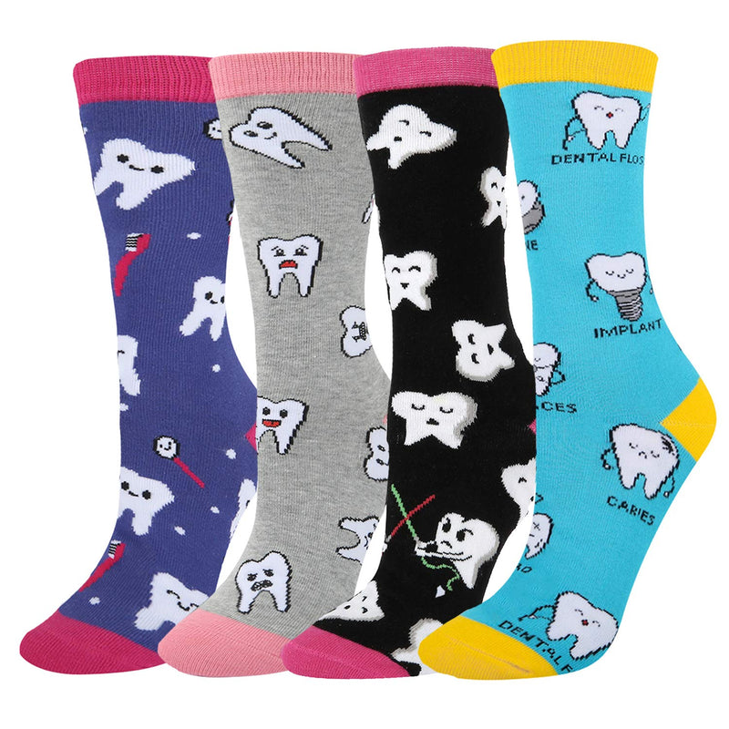 Teeth Care Socks Gift Box - Happypop