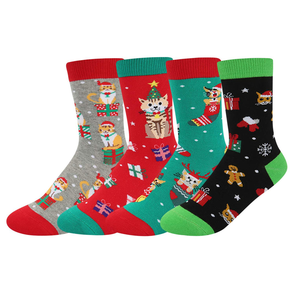 Boys Christmas Socks Gift Box