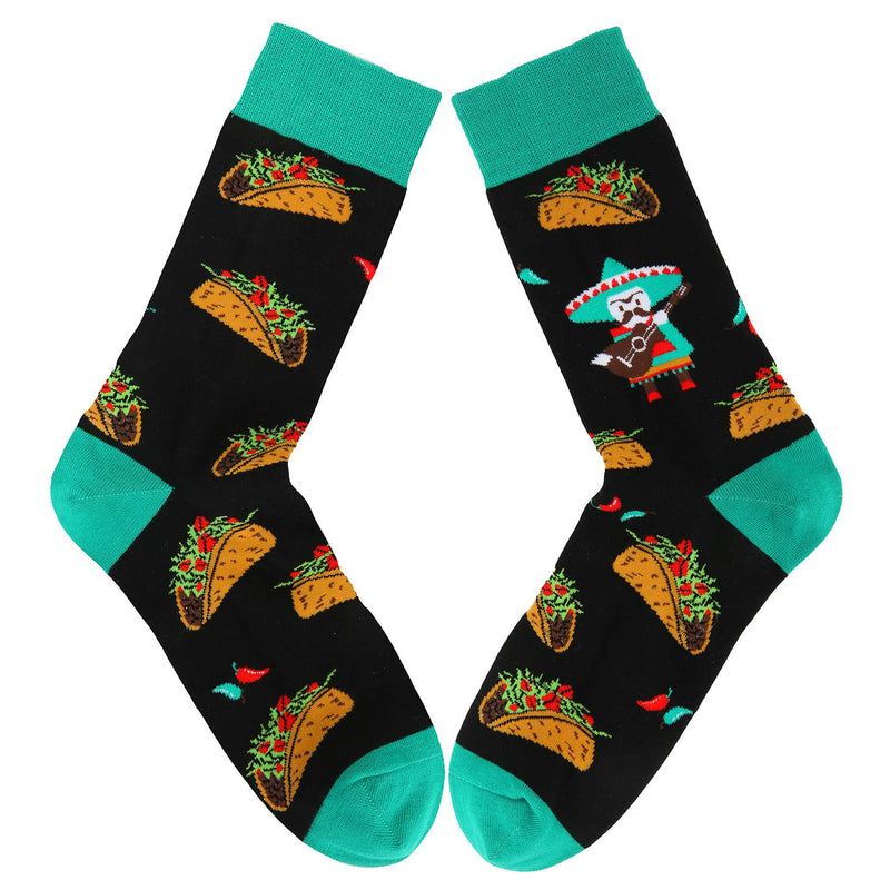 Mexicano Taco Socks - Happypop