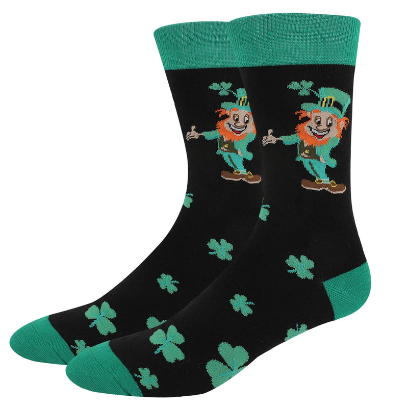 Saint Patrick Clover Socks - Happypop