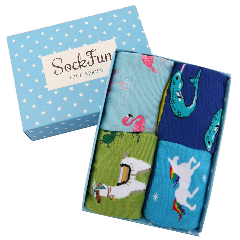 Kids Cute Socks Gift Box - Happypop