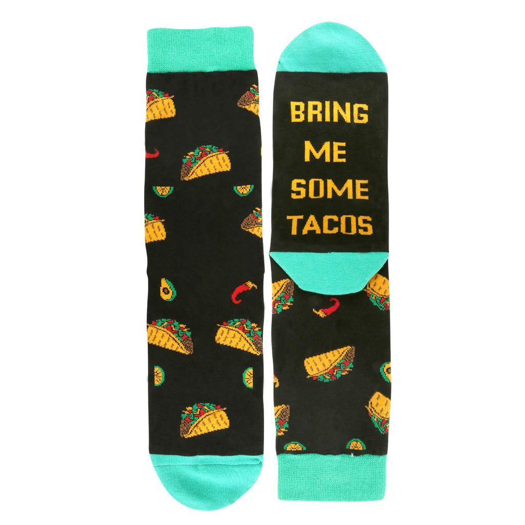 Saying Taco Socks