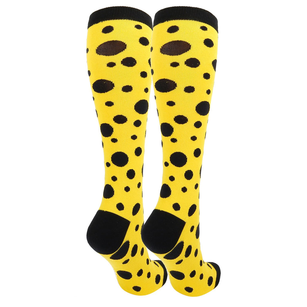 Black Dots Socks - Happypop