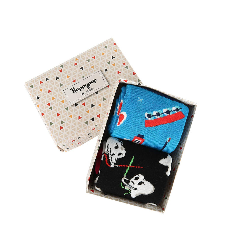 Teeth Tool Socks Gift Box