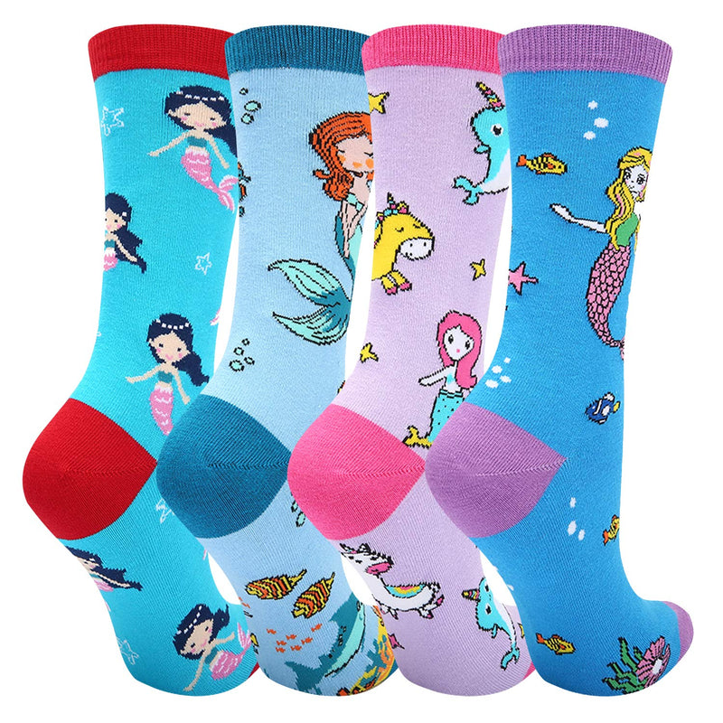 Mermaid Socks Gift Box - Happypop