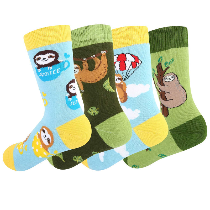 Kids Sloth Socks Gift Box - Happypop