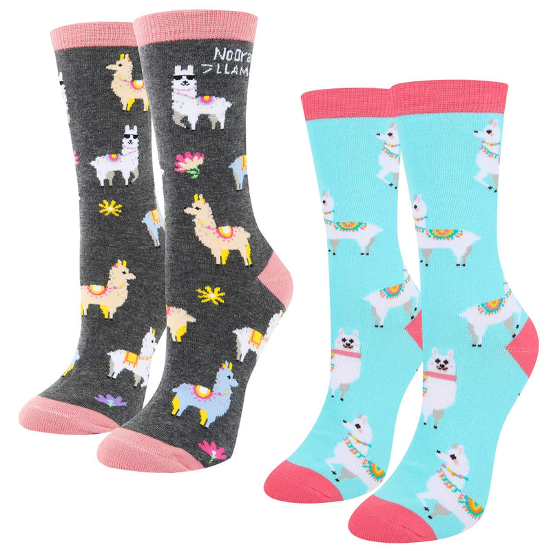 Cute Llama Socks Gift Box - Happypop