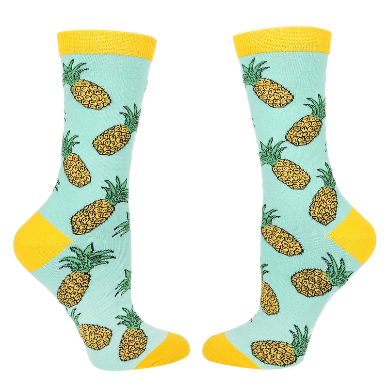 Flamingo Pineapple Socks Gift Box - Happypop